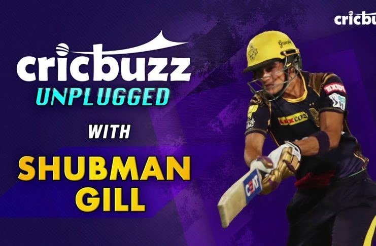 IPL మ్యాచ్ 2018 | Rahul Dravid told me not to hit the ball in the air - Shubman Gill