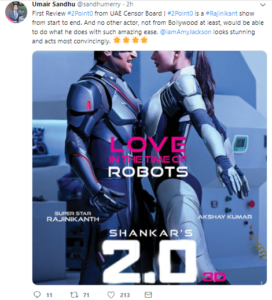 2.0 movie first review